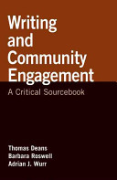 Writing and Community Engagement