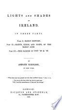 Lights and Shades of Ireland Book