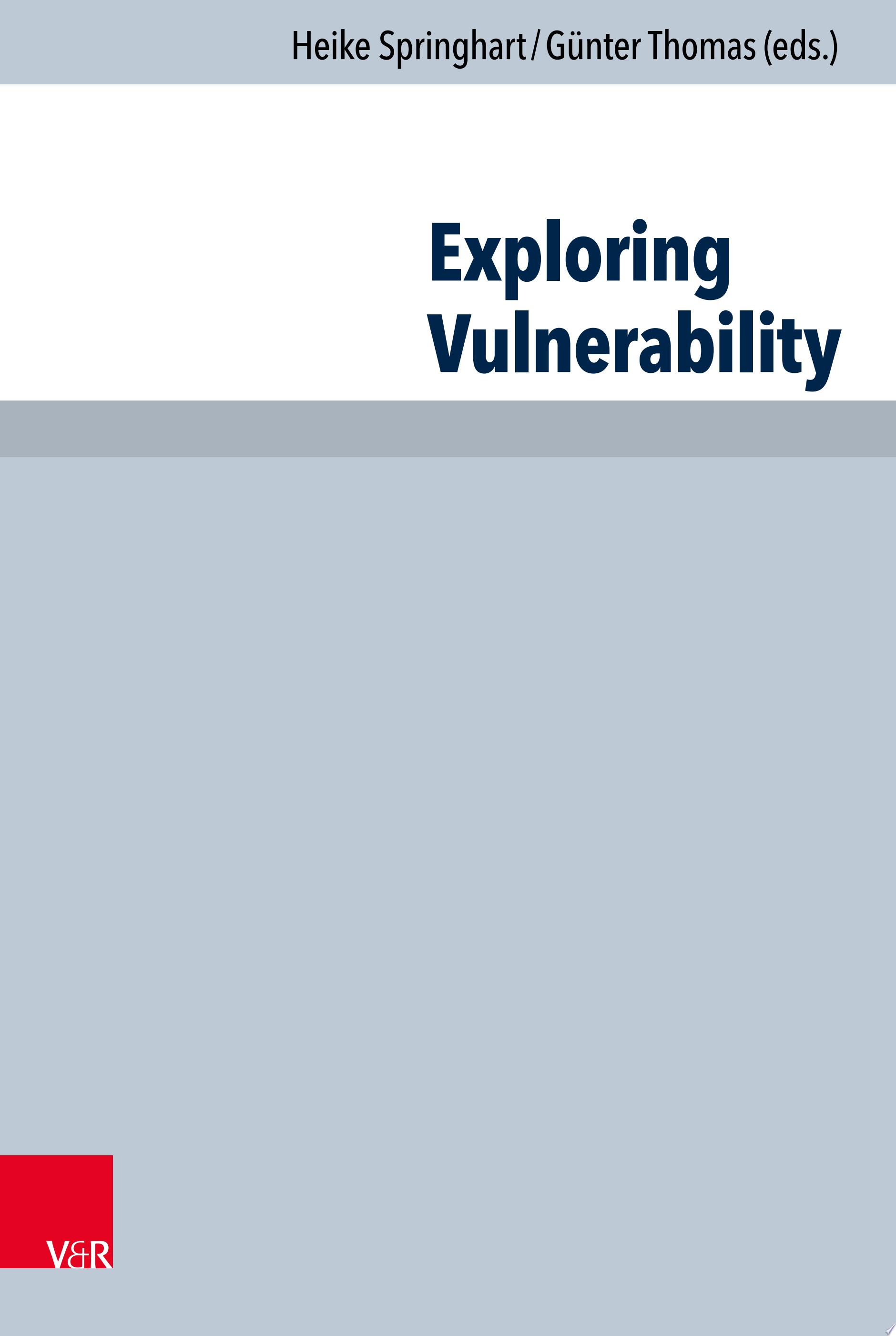 Exploring Vulnerability