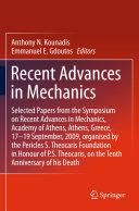 Recent Advances in Mechanics