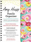Amy Knapp's Family 2020 Organizer