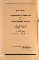 Canadian Review of American Studies