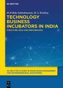 Technology Business Incubators in India