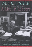 M F K  Fisher  a Life in Letters