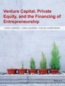Venture Capital  Private Equity  and the Financing of Entrepreneurship