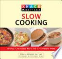Knack Slow Cooking Book