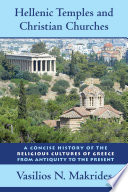 Hellenic Temples and Christian Churches Book