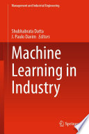 Machine Learning in Industry