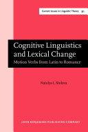 Cognitive Linguistics and Lexical Change