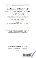 International Law Reports  Volume 2 Book