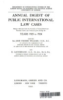 International Law Reports  Volume 2