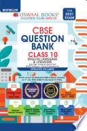 Oswaal CBSE Question Bank Class 10 English Language & Literature (Reduced Syllabus) (For 2021 Exam)