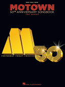Pdf Motown 50th Anniversary Songbook Telecharger