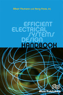 Efficient Electrical Systems Design Handbook [Pdf/ePub] eBook