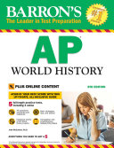 Barron s AP World History with Online Tests