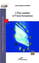 Pdf L'État candidat à l'Union Européenne Telecharger