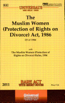 The Muslim Women  Protection of Rights on Divorce  Act  1986
