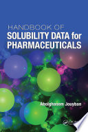 Handbook of Solubility Data for Pharmaceuticals