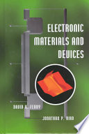 Electronic Materials And Devices Book PDF