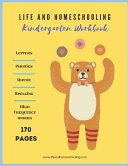 Kindergarten Homeschool Workbook Book