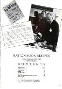 Ration Book Recipes Book PDF