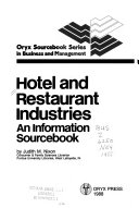 Hotel And Restaurant Industries Book PDF