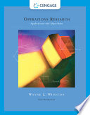 Operations Research  : Applications and Algorithms