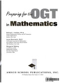 Preparing for the OGT in mathematics