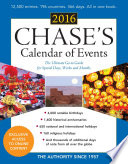 """""""Chase's Calendar of Events 2016: The Ultimate Go-to Guide for Special Days, Weeks and Months"""" by Editors of Chase's"""