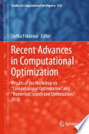 Recent Advances in Computational Optimization Book