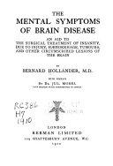 The Mental Symptoms of Brain Disease