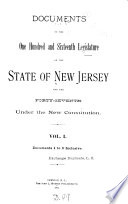 Journal Of The Senate Of The State Of New Jersey