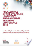 Proceedings of the Applied Linguistics and Language Teaching Conference 2019   Engaging in Change  New Perspectives of Teaching and Learning