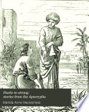 Pearls re strung  stories from the Apocrypha