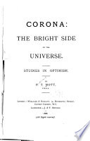 Corona  the Bright Side of the Universe  Studies in Optimism