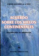 Acuerdo sobre los hielos continentales