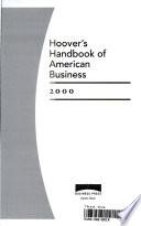 Hoover's Handbook of American Business 2000