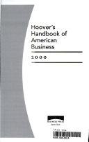 Hoover s Handbook of American Business 2000