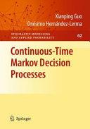 Pdf Continuous-Time Markov Decision Processes