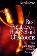 Best Classroom Practices  : What Award-Winning Elementary Teachers Do