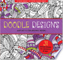 Doodle Designs Artist's Coloring Book