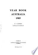 Year Book Australia 1985