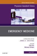 Emergency Medicine, An Issue of Physician Assistant Clinics, E-Book Pdf/ePub eBook