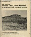 Soil Survey of Otero Area, New Mexico