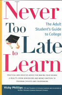 Never Too Late to Learn