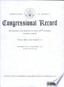 Congressional Record Book