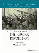 A Companion to the Russian Revolution