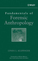 Fundamentals Of Forensic Anthropology Book PDF