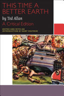 Pdf This Time a Better Earth, by Ted Allan Telecharger