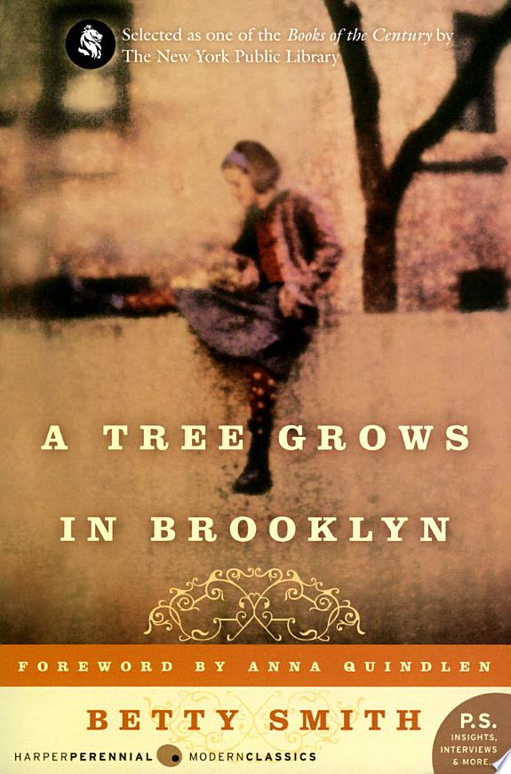 A Tree Grows in Brooklyn banner backdrop